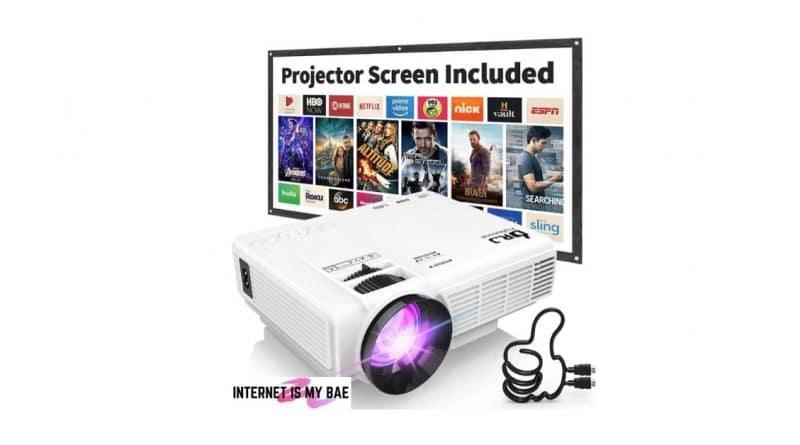Dr. J Professional HI-04 Mini Video Projector