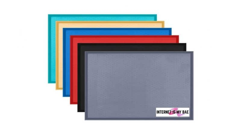 Rubber Mat with Raised Edges
