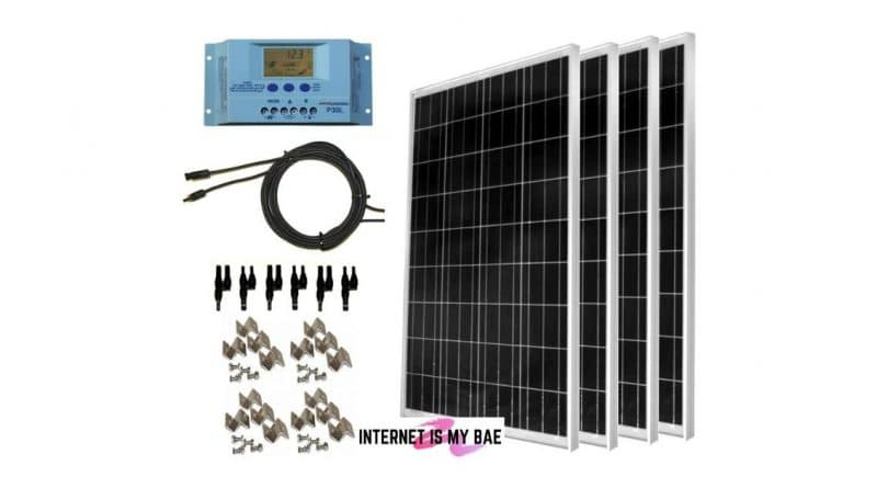 WindyNation 400-Watt Solar Kit