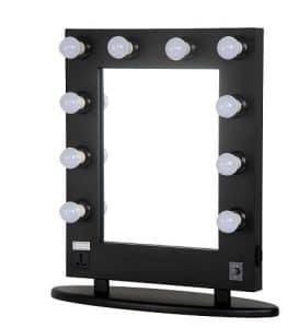 Cosmetics mirror vanity mirror with lights