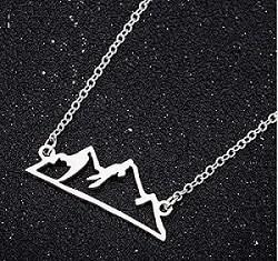 luxury mountain pendant