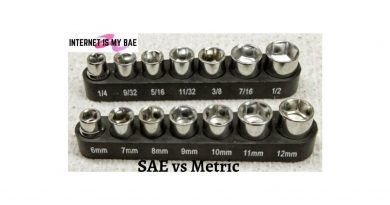 SAE vs Metric
