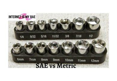 SAE vs Metric